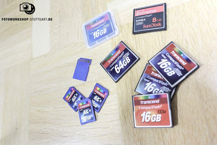 Speicherkarten-Sammelsurium-Verwalten