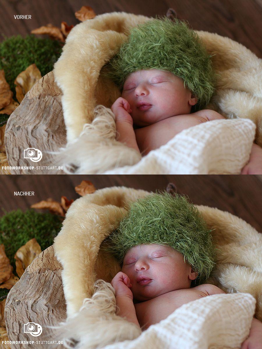 Vorher: Bild direkt aus der Kamera.Nachher: Geschärft in Lightroom und Photoshop. Aufwand ca. 1 Minute.