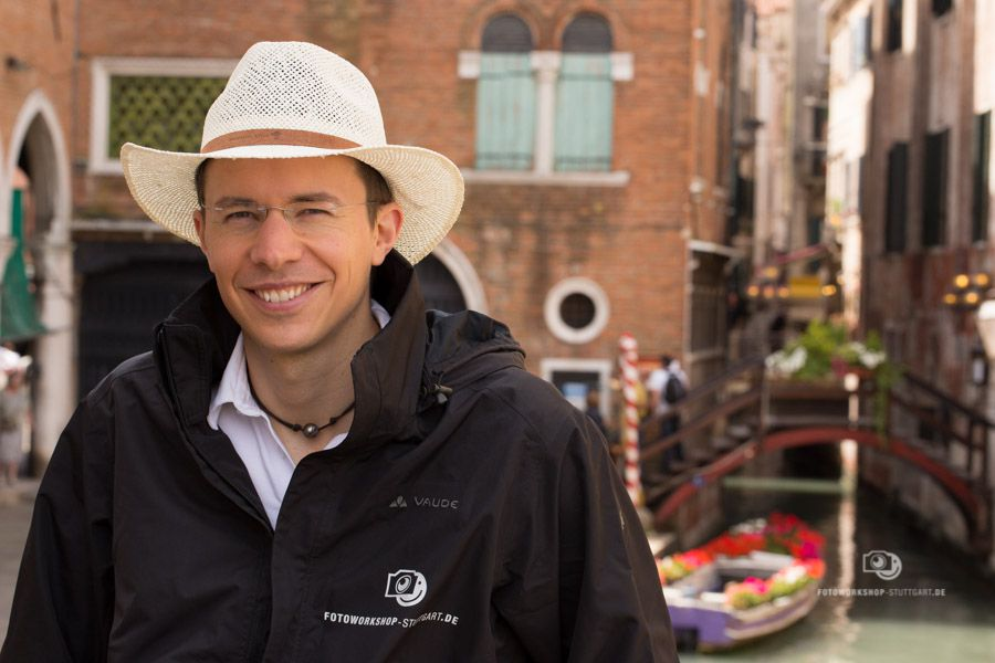 Andreas Martin bei der Fotoreise in Venedig Italien