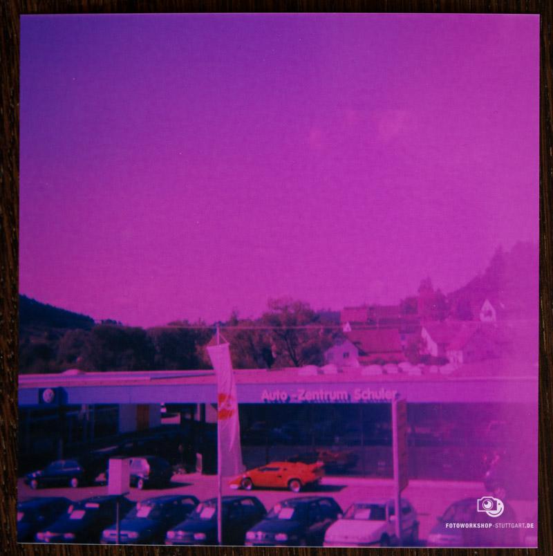Lomografie mit Kodak Instamatic 56 - Ergebnisfoto Eins