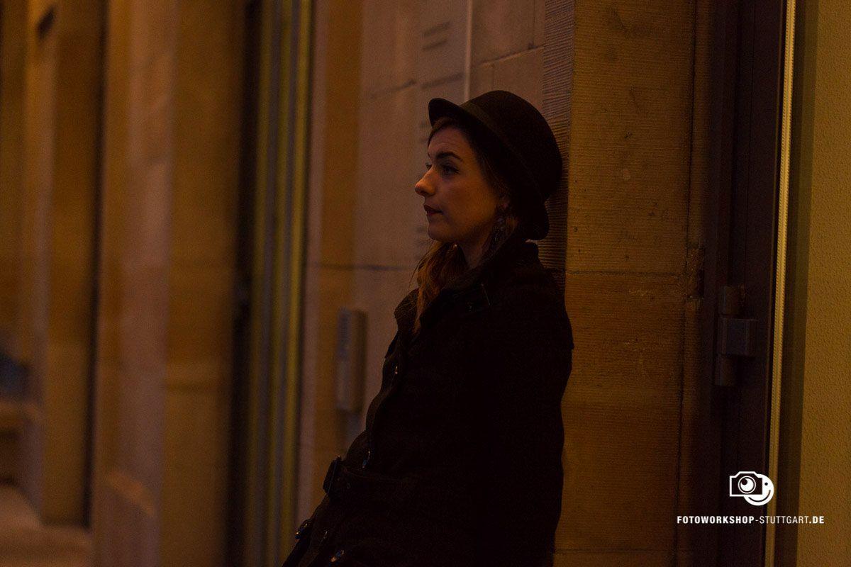 Before-Kein Blitzlicht heißt abends keine Chance auf ein Portrait