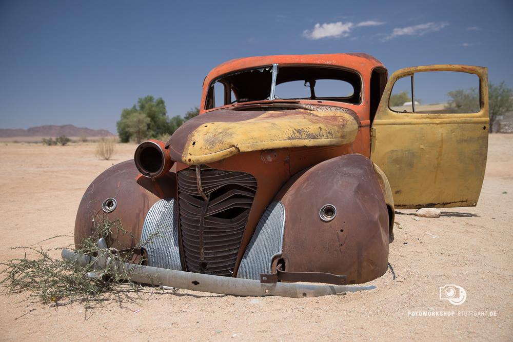 Before-Altes Auto