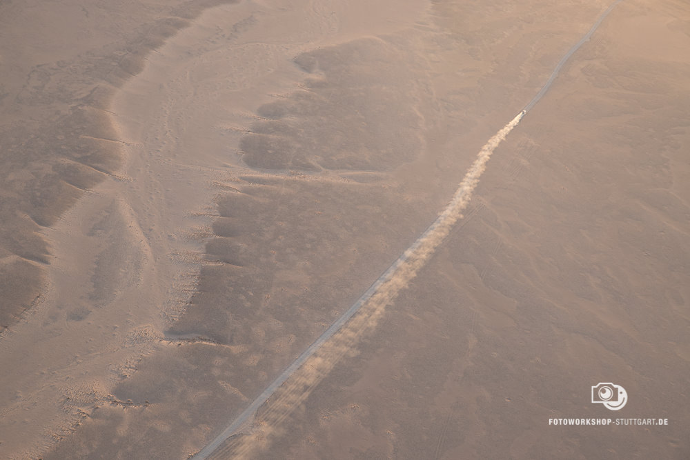 Before-Wüste von oben
