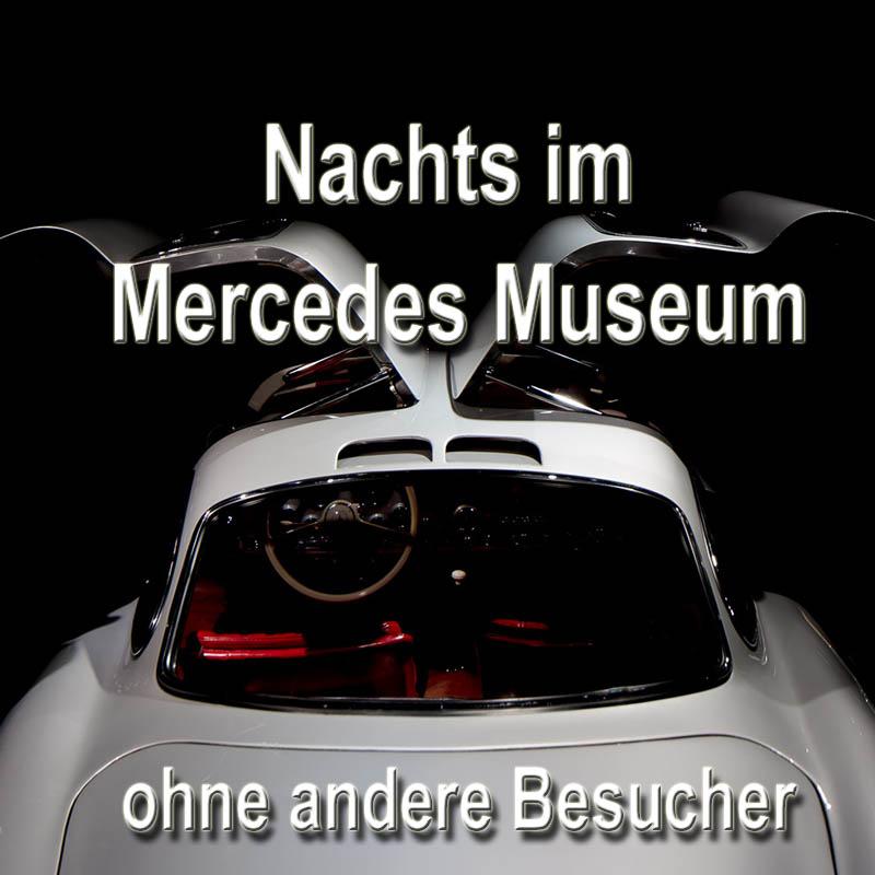 Exklusiv: Nachts alleine im Museum fotografieren im Mercedes-Benz ...