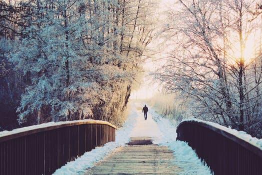 Eine schöne Winterliche Location in der Natur. ( Sieht sicherlich auch im restlichen Jahr super aus :) )