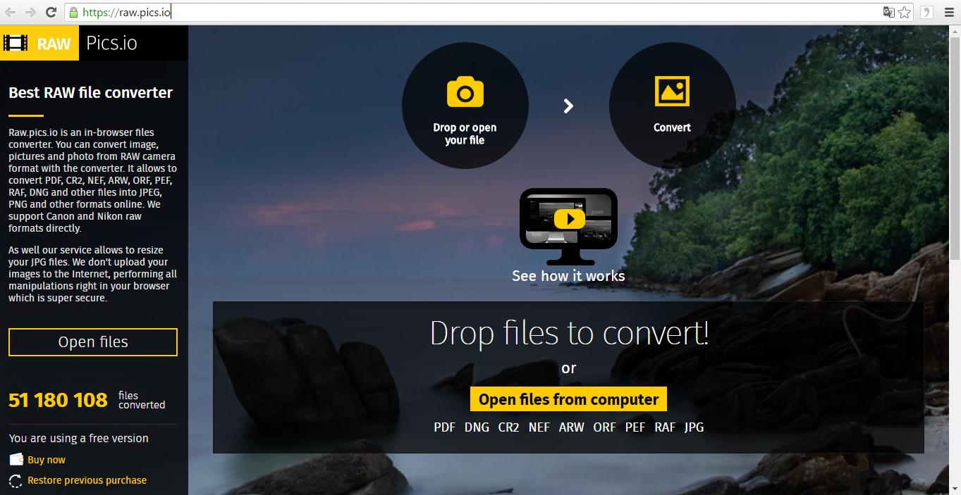 Tipp: RAW Dateien von unterwegs anschauen