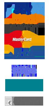 Wir akzeptieren als Zahlungsarten: Visa, Mastercard, Sofortueberweisung, Paypal, Stripe, die Bildungsprämie und auf Rechnung